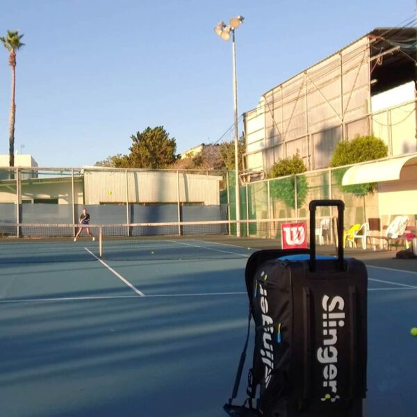 tennis ball wurfmaschine