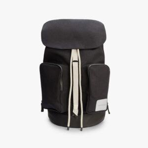 tretorn bjÑre-daypack-black-sand-stoffrucksack schwarz beige vorne