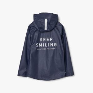 tretorn kids packable rainset navy regenjacke kinder marineblau hinten