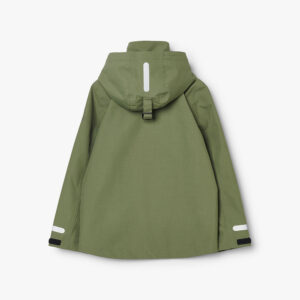 tretorn torrent shell jacket field green jacke kinder grÅn hinten