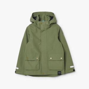 tretorn torrent shell jacket field green jacke kinder grÅn vorne