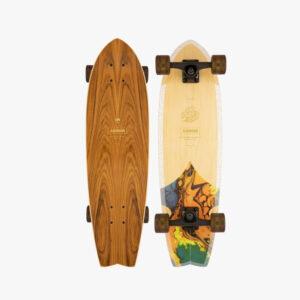 groundswell sizzler arbor skateboard schweiz nachhaltig