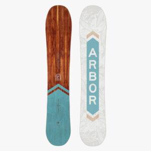veda women arbor neu winter snowboard schweiz berge schnee holz nachhaltig
